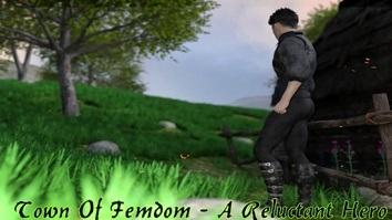 Town of Femdom - A Reluctant Hero JOGO PORNO - PORN GAME - JOGO ADULTO - JOGO +18 (1)
